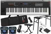 Practice Support At Home Yamaha / Mx61 Bk Start Set With Keyboard Bench