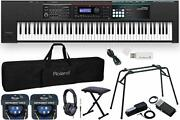 Practice Support At Home Roland/juno Ds88 Limited Quantity Complete Set With