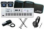 Roland / Juno Ds61w Limited Quantity Dp 10 Start Set Synthesizer Ds
