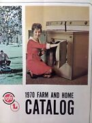 Western Farmers Association 1970 Farm And Home Supply Catalog Wfa Seattle Tractor