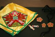Boy Scout 2006 Conference S4s Neckerchief, Slide, Bolo Tie And Pins