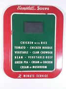 Campbell's Soup 2 Minute Service Tin Sign 17 X 14 - Lot 209