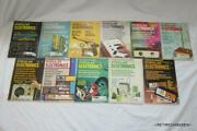 Vintage Rare Lot/collection Of 11 Popular Electronics Magazines 1966 1965 1964