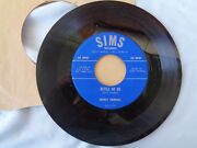 Sims 45rpm Record Bottle Or Me Honey I Gotta Have You Jenny Herrell 1959
