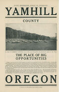 1910s Yamhill County Oregon Land Sale Ad Farms Orchards Or Real Estate Settlers
