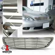 For 2005-2006 Lexus Es330 {horizontal-bar} Chrome Abs Front Bumper Grille/grill