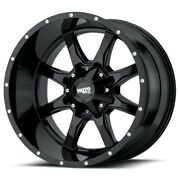 24 Inch Black Wheels Rims Lifted Chevy 2500 3500 Dodge Ram Ford Truck 24x14 New