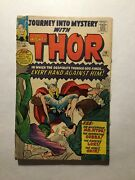 Journey Into Mystery 110 Very Good- Vg- 3.5 Bad Cut Interior Pages Marvel