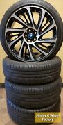 Oe Bmw I8 Wheels W/tires And Tpms 86204 / 86208 Rims New Take Offs.