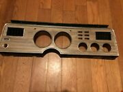1975 1978 Ford Mustang 11 Gauge Bezel With A/c Vents Wood Grain D5zf10b883