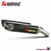 Akrapovic Pair Of Exhaust Approved Carbon Fibre For Ducati 1198/ S 20092011