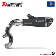 Akrapovic Exhaust High Approved Titanium Black For Bmw R Ninet 20142016