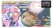 Coverscape Computer Designed 90th Anniversary Of Discovery Of Pluto Event Cover