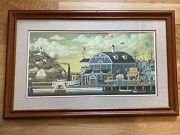 Charles Wysocki - Fairhaven By The Sea - Limited Edition Print Numbered And Signed