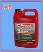 8 Gallons Engine Coolant Antifreeze Ford Motorcraft Orange/yellow Pre Diluted