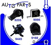Engine Motor And Trans Mount Kit 4pcs For Honda Element 2.4l L4 2003-11 For Auto T
