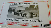 American Model Builders Ho 725 G.r. Dill And Sons Salting Station Laser Kit