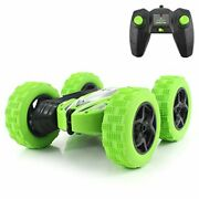 Strong Grip Tires Rock Crawler Remote Control Truck Double Sided Roll Stunt Car