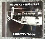 Milwaukee Guitar Strictly Solo Cd A13 Acoustic