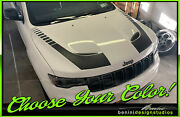 Hood Decal Racing Blackout Stripes 7 -fits Jeep Grand Cerokee Srt-8 2011 And Up
