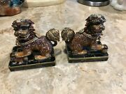 Jay Strongwater Foo Dog 2 Pieces Set