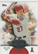 Mike Trout 2013 Topps Making Their Mark Angels Baseball Insert Card 1st Home Run