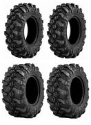 New Complete Set Of Sedona Buck Snort Tires - 2007-2015 Yamaha 700 Grizzly