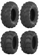 New Complete Set Of Itp Mud Lite - At Tires - 2007-2015 Yamaha 700 Grizzly