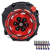 Red Clutch Cover Pressure Plate Spring Retainer For Bmw 12-18 Hp4/09-17 S1000rr/