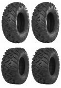 New Complete Set Of Itp Terra Cross R/t Xd Tires - 2007-2015 Yamaha 700 Grizzly
