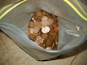 1360 Copper Pennies From 1909 To 1982 Lot Of D And S Uncearhsed