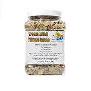 Tubifex Worms - Freeze Dried In Cubes With Free 7.99 Freeze Dried Gourmet Mix
