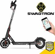Swagtron Swagger 5 High Speed Electric Scooter Folding And Portable Cruise Control