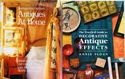 2 Decorating With Antiques Books Effects At Home Wax Glaze Practical Guide ➕