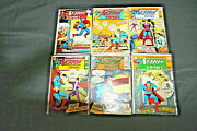 Action Comics 1969 Mixed Lot Of 9 Comics +2 Worlds Finest Vf - Nm