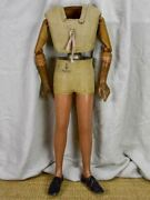 Early 20th Century German Tailorand039s Mannequin- Child - Articulated