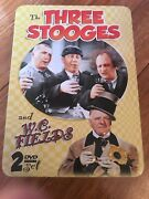 The Three Stooges And W.c. Fields Dvd, 2009, 2-disc Set