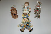 Wizard Of Oz Set Of 4 Ornaments - Smithsonian Inst.
