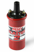 Msd 8203 Msd Ignition Coil Blaster 2 Series W/ballast Resistor Red Stock ...