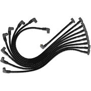 Msd 35591 Sleeved Spark Plug Wires For Sbc Under Exhaust Hei