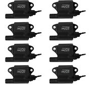 Msd 828783 Msd Ignition Coils Pro Power Series Gm Ls2/ls7 Engines, Black, 8-pack