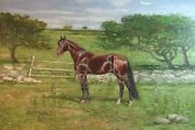 E.c.p. Smith Equestrian Horse Painting