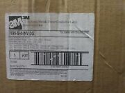 3m 7695-s-4-inv-3g Qt-iii Cold Shrink 3 Conductor Cable Termination Kit New Box