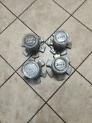 70and039s 80and039s Amc Jeep Wagoneer Cherokee Sj Center Caps 4 Pieces Set