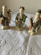 Three Chinease Figurines