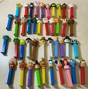 44 Vintage Pez Dispensers Disney Tmnt Marvel Dc Holiday Muppet Bugs Mickey Mouse