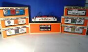 Lionel 18311 Disney Ep-5 Locomotive W/ 5 Box Cars And Extended Vision Caboose..nib