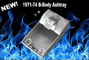 New Dashboard Ashtray Insert And Rivets For 1971-74 B-body Mopars Charger Plymouth