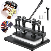 360x220mm Manual Leather Cutting Machine Die Cut Andampleather Embossing Machines