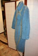 Ko And Co Jean Charles De Castelbajac 70and039s Vintage Turquoise Blue Coat . Aly